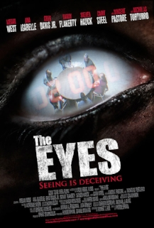 "Official Poster for ""The Eyes"""