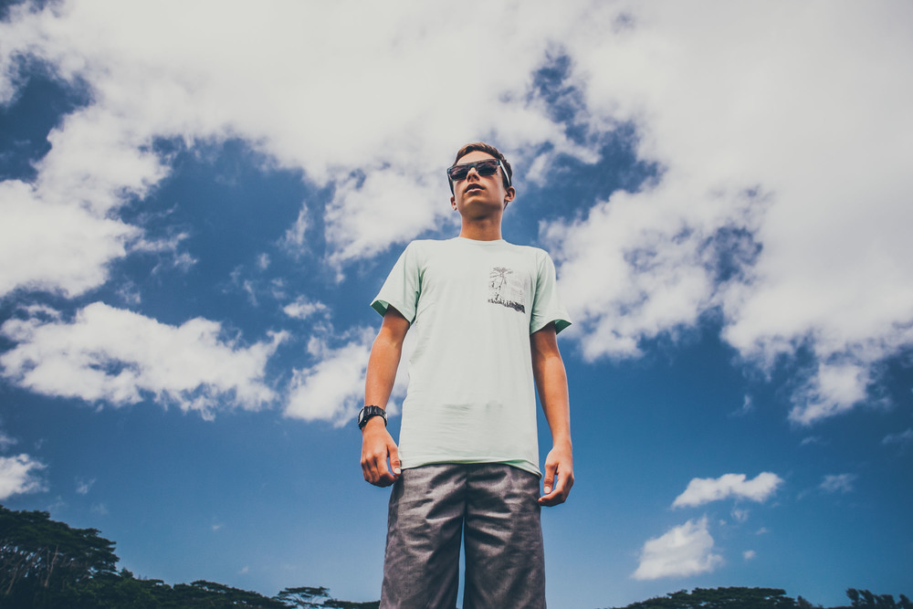 Aloha Exchange Pocket Tee Shirt