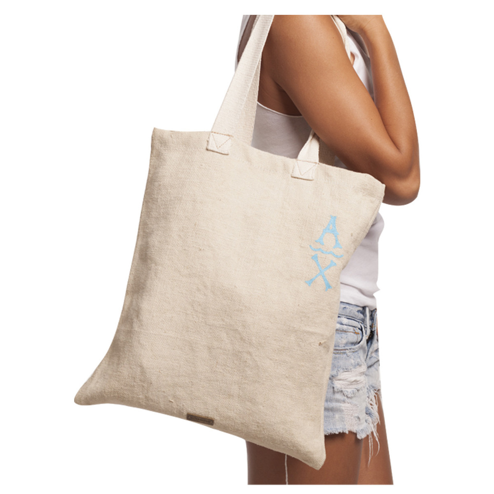 Aloha Exchange Small Tote in Beige.