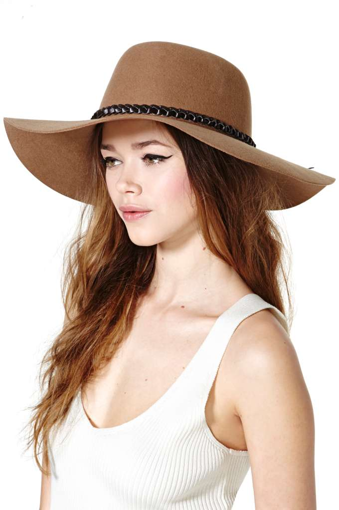 Brixton's Gia Hat. Photo Courtesy NastyGal.