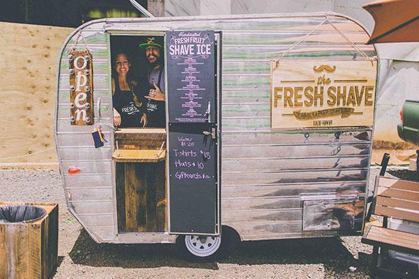 The Fresh Shave Truck Kauai Aloha Exchange