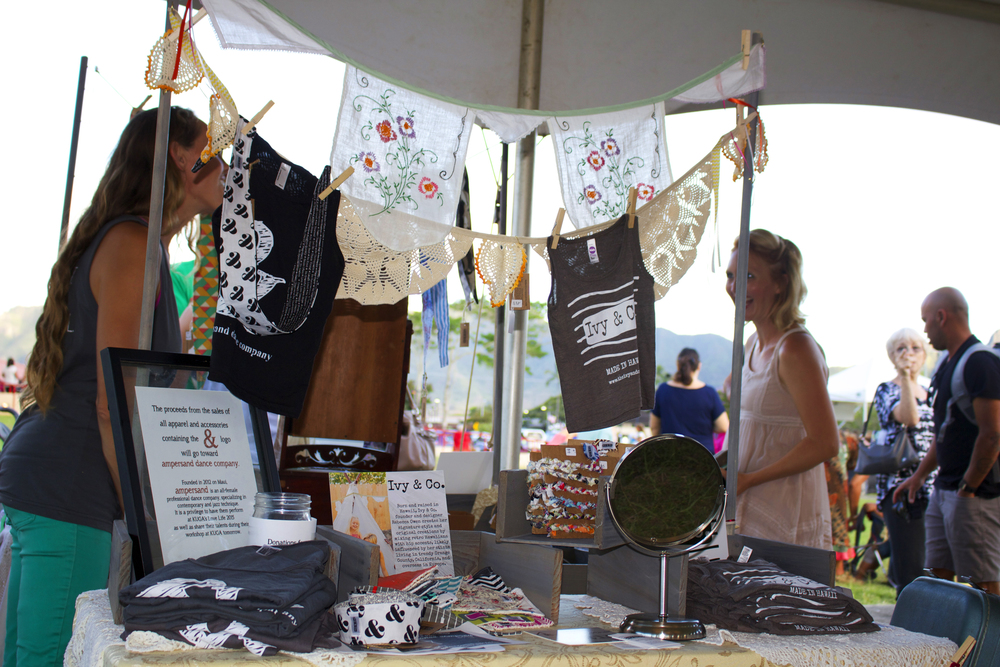 Many Kauai vendors came out to sell their products!