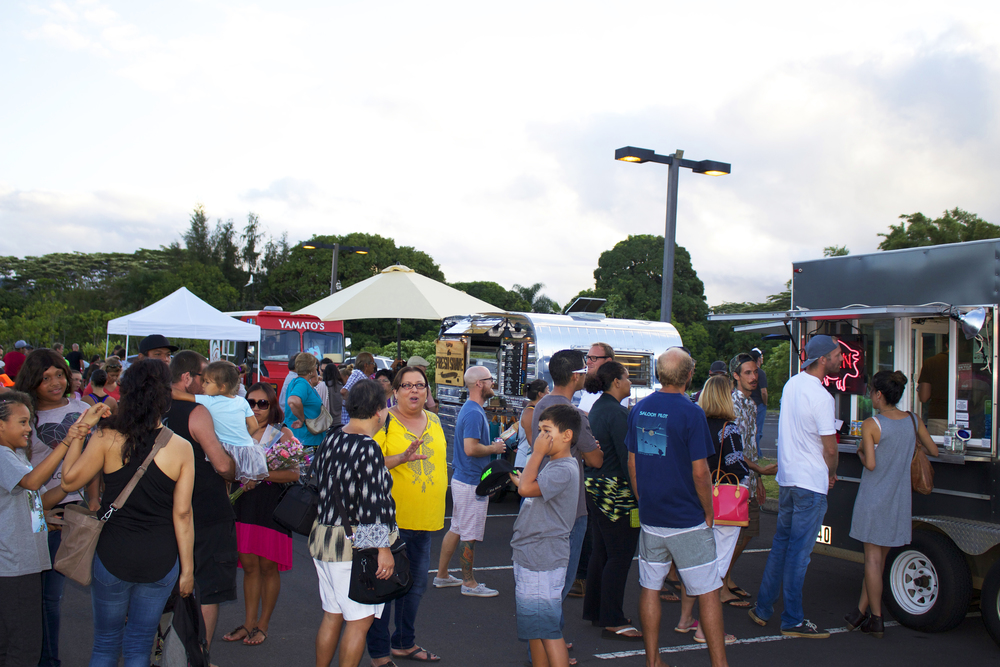 Food trucks from all over the island came out. Check out Kickshaws, The Fresh Shave, Yamato's, JC's Puerto Rican Kitchen, Rainbeau Jo's, & Acai Tambor Bowls.