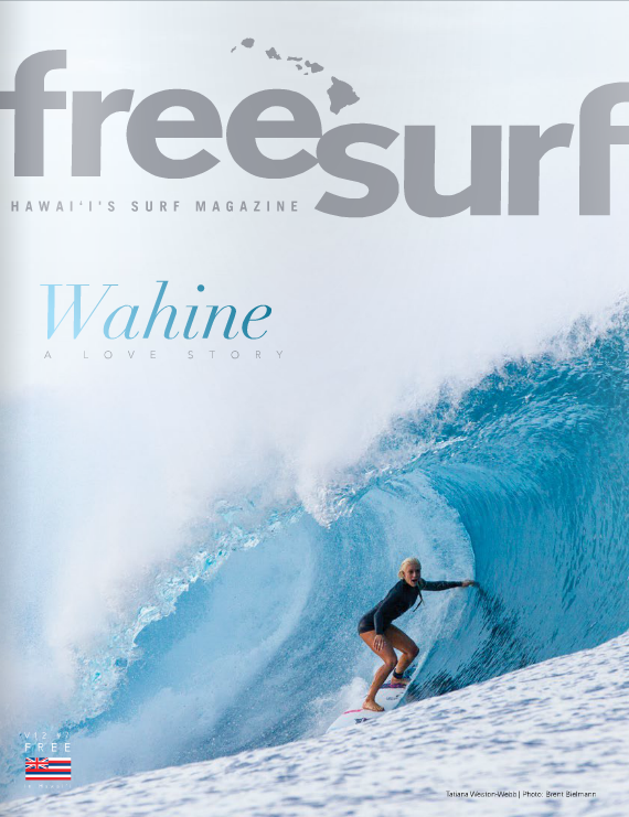 Shout out and & congrats to fellow Kauai girl, Tatiana Weston Webb for getting the cover!