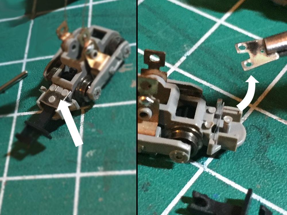 Step 5 - Remove the metal coupler box lid.