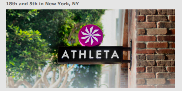 Athleta 18th and 5th ave