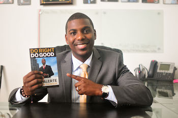 Copies of Do Right Do Good by Dr. Jean Alerte, Owner of Brooklyn Swirl & Alerte, Carter, & Associates
