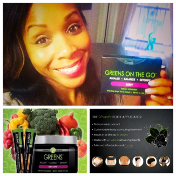 All participants will receive a sample of It Works Greens on the Go from my good friend Felicia Walker. And one lucky raffle winner will receive the It Works Ultimate Body Applicator!