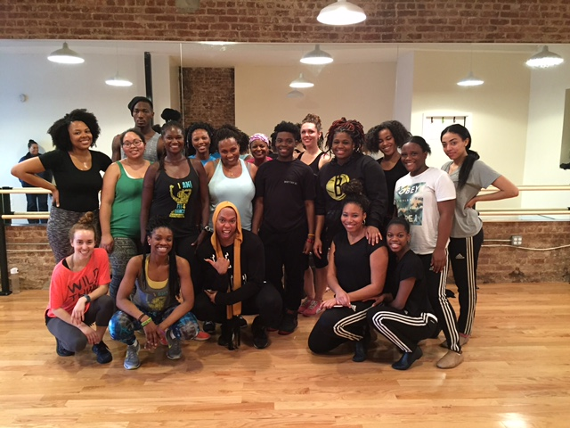 Celebrity Choreographer James Alsop Blesses Fit4Dance with a Master Class!