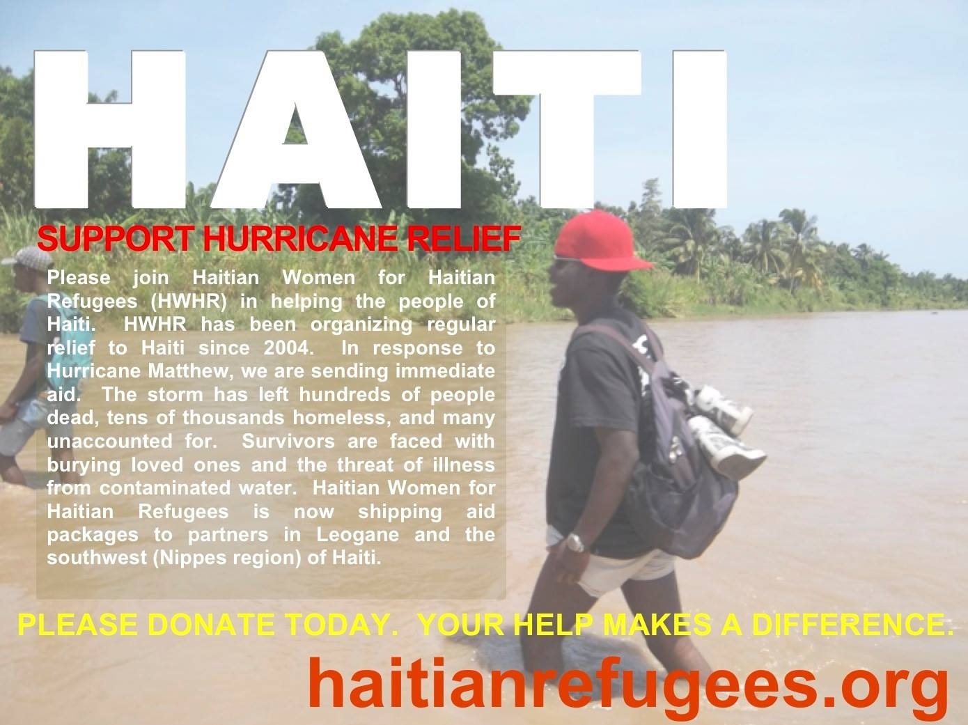 Support Haiti: Donations Needed