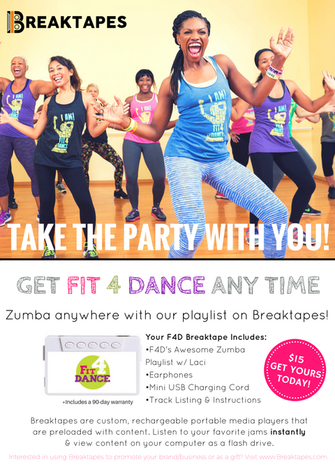 Feeling the Mix? Get Your Fit4Dance BreakTapes Now!