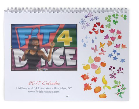 Fit4Dance 2017 Calendars are here!