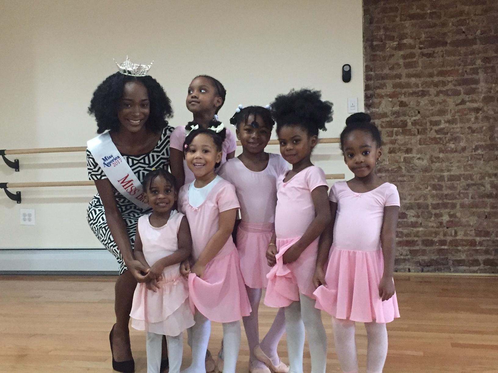 Miss Brooklyn Visits Fit4Dance Children's Dance Classes