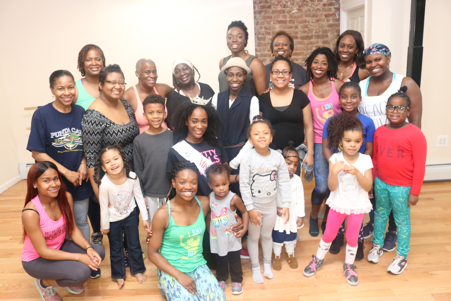 Miss Brooklyn & F4D Host a Mother Daughter Dance Party!