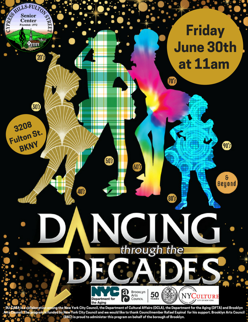 Dancing Through the Decades Senior Showcase