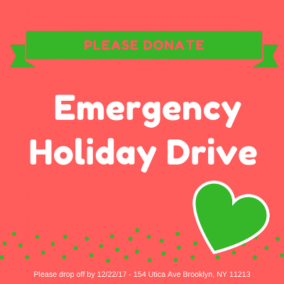 Emergency Holiday Drive