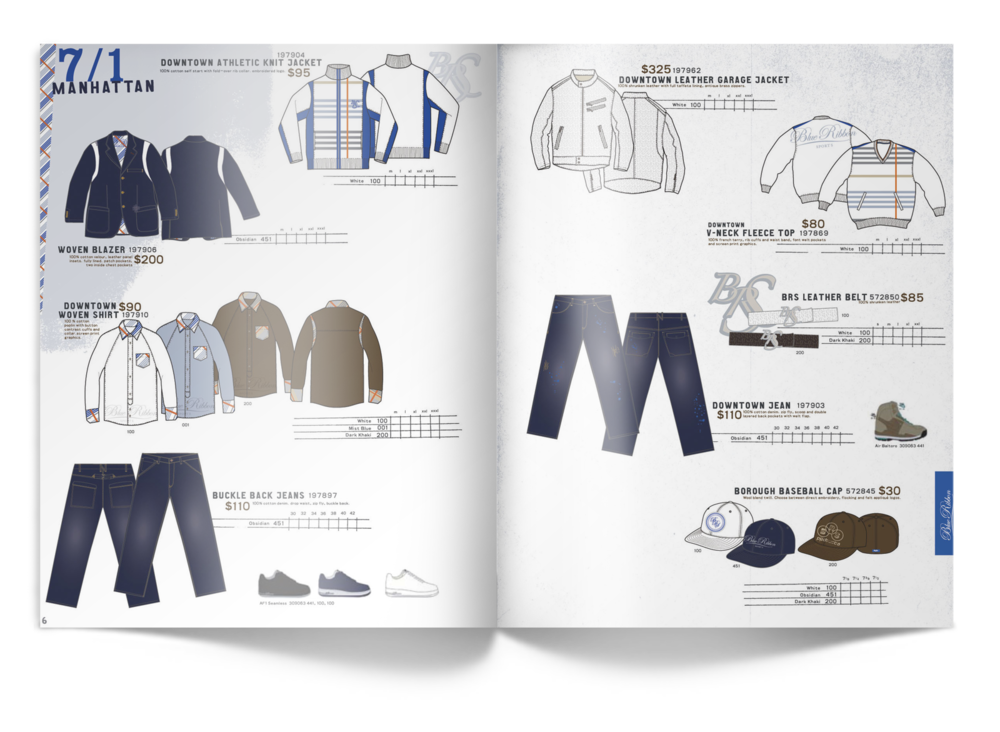 Nike brs catalog erik helmer for Nike brochure design