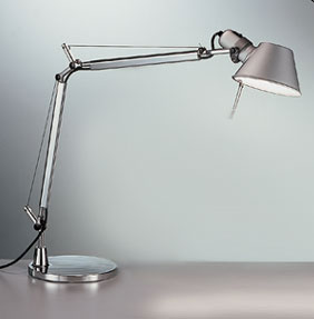 Artemide Tolomeo Classic Table Lamp - $300   Italians know function with style. Architects need a concentrated light source to see drawings. Bam!