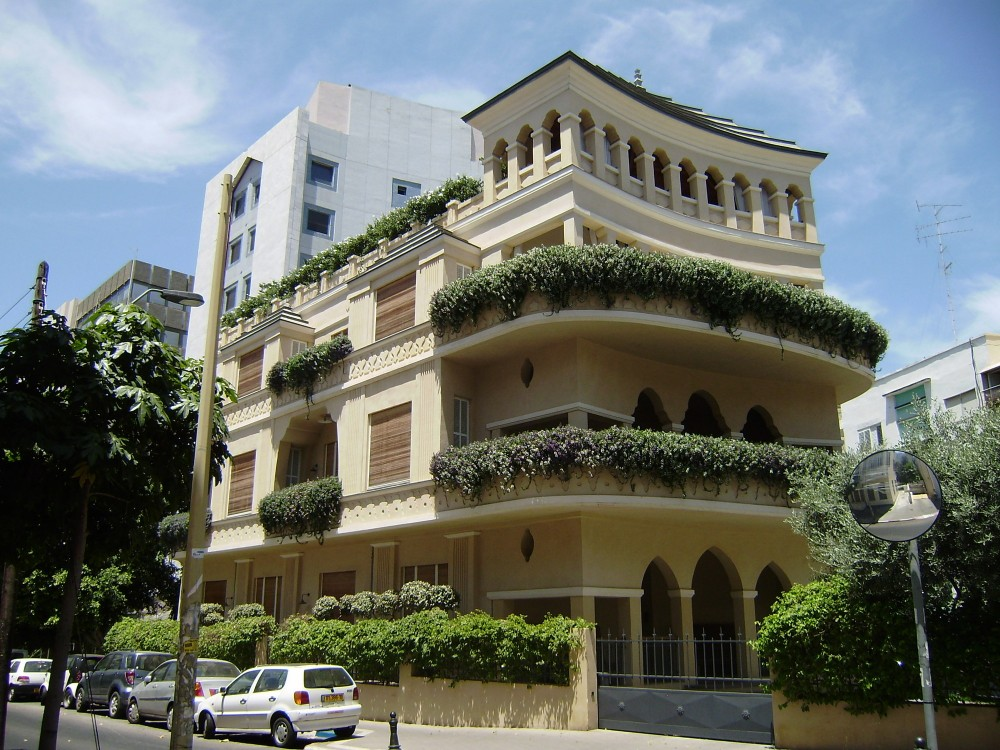 Pagoda House, Alexander Levy