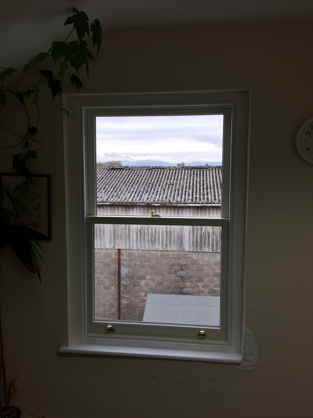 Double glazed sash window Kendal