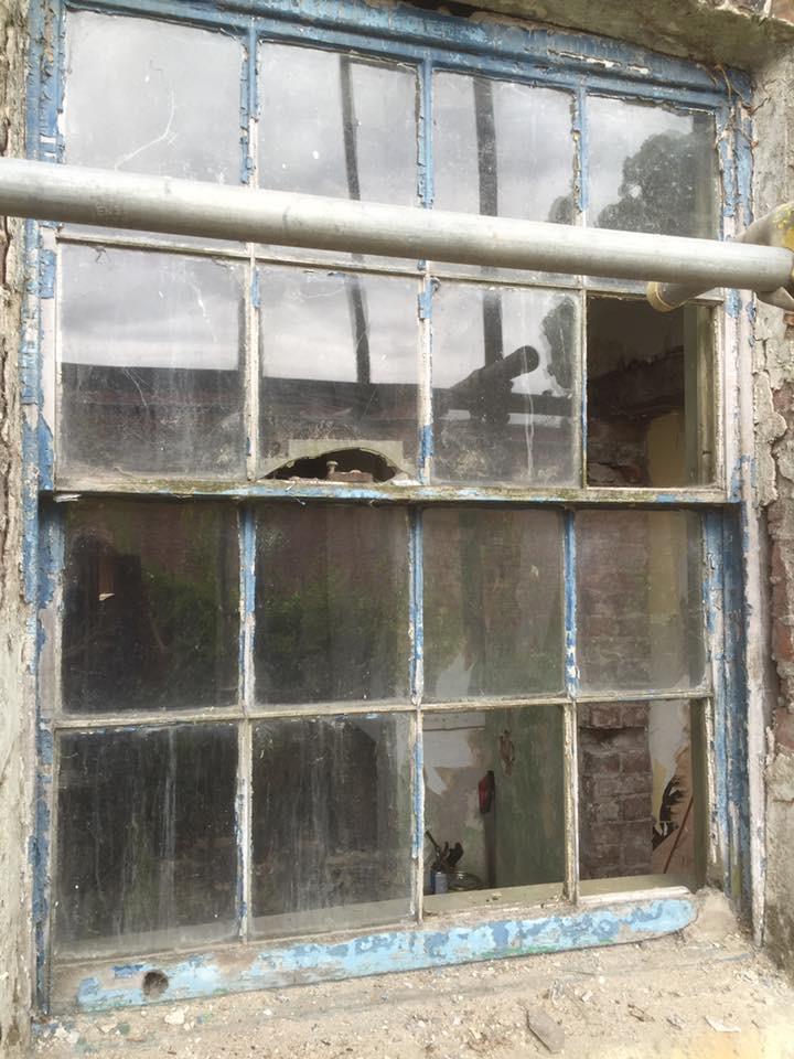 grade two listed sash window