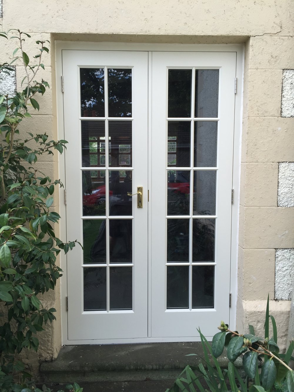 timber french doors Eccleston
