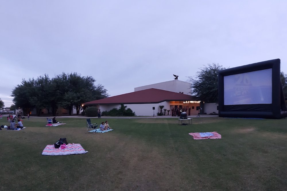 Big Screen on the Green - Our favorite fall event features a family friendly movie on a giant, Inflatable screen and plenty of green space to lay your blanket and eat popcorn with a friend.