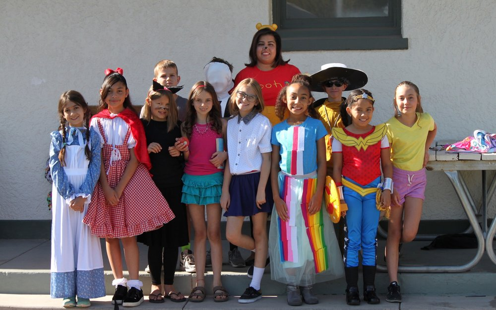 Love of Reading Week - Love of Reading is a week devoted to books! Getting kids excited about reading is a great way to build strong readers and excited learners. During LRW teachers decorate their classroom doors, children dress as their favorite characters and have a character parade through the entire campus, and go home with a book to add to their home library.