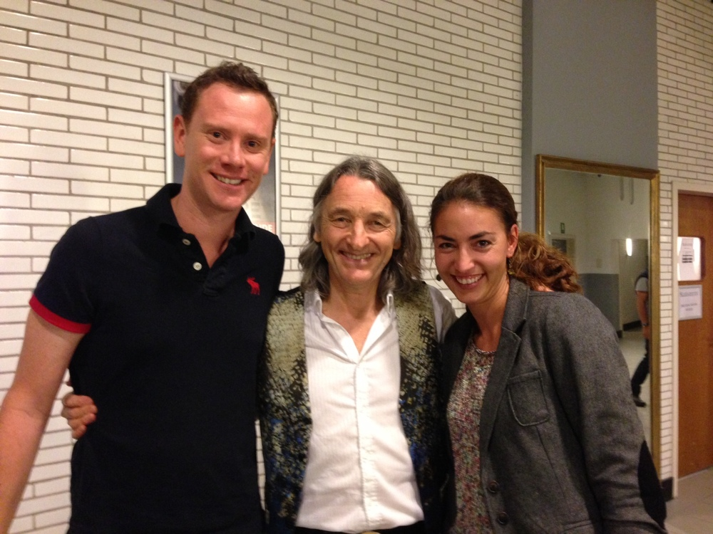 with Roger Hodgson