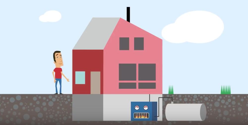 Animasjonsfilm om oljefyring - Animasjonsfilm for Klimaetaten i Oslo kommune.