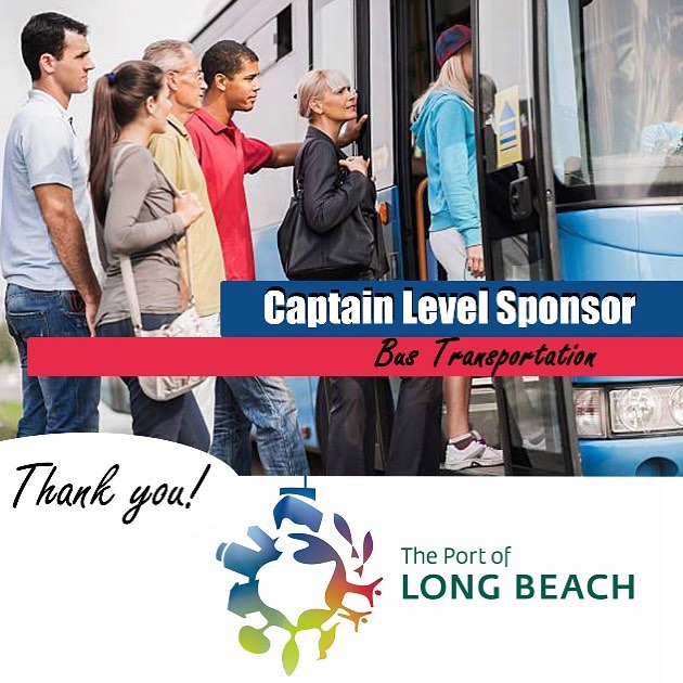 Thank you, @portoflongbeach, for sponsoring our conference transportation! #pacificports #appac19