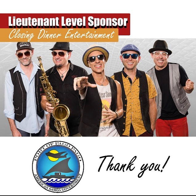 Thank you, Port of Pago Pago, for supporting our Conference Closing Dinner Entertainment! #appac19 #pacificports