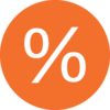 The % Logo symbolizes our goal of achieving Equitable practice.