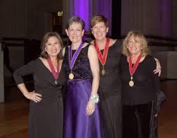 AIA National Presidents:Elizabeth Chu Richter, FAIA, Helene Combs Dreiling, FAIA, Kate Schwennsen, FAIA, and Susan Maxman, FAIA