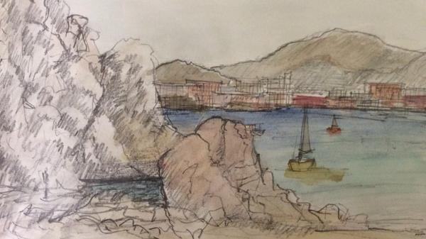 Sketch by R. Sheng