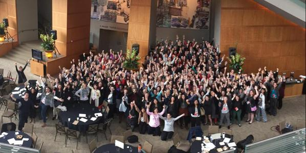 Power posing Architecture Mavens at the AIA WLS 2015 in Seattle