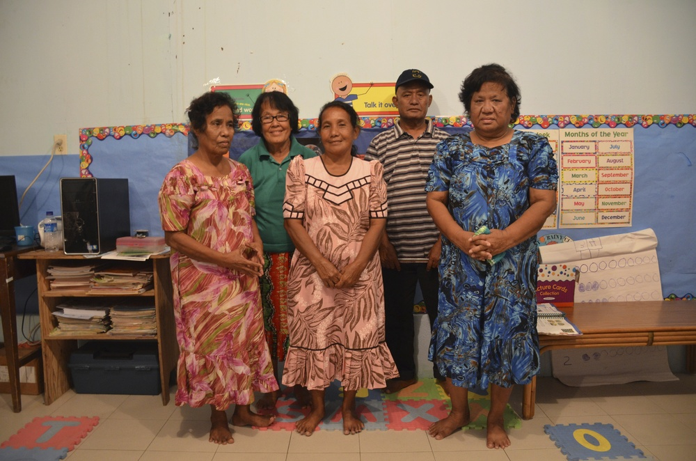 People from contaminated Rongelap Atoll living on Ebeye.
