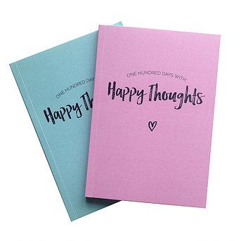 Happy Thoughts - bøgerne gør det endnu nemmere for dig at huske de gode ting i livet.