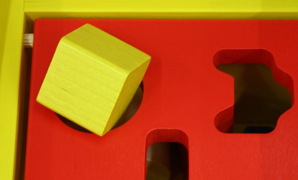 So are you going to change your square peg, your round hole or stay frustrated? Photo courtesy rosipaw.