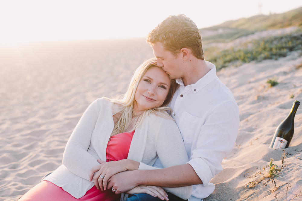 Mckenzie and Matt relax on the beach - Sahara Coleman - Professional Wedding Photographer, Destination Photographer 2014 Seattle Washington