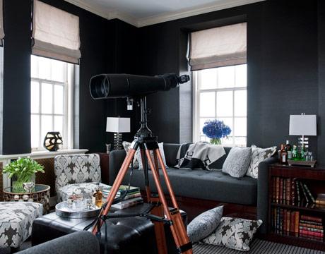 designer tip dark walls in small spaces liv showroom