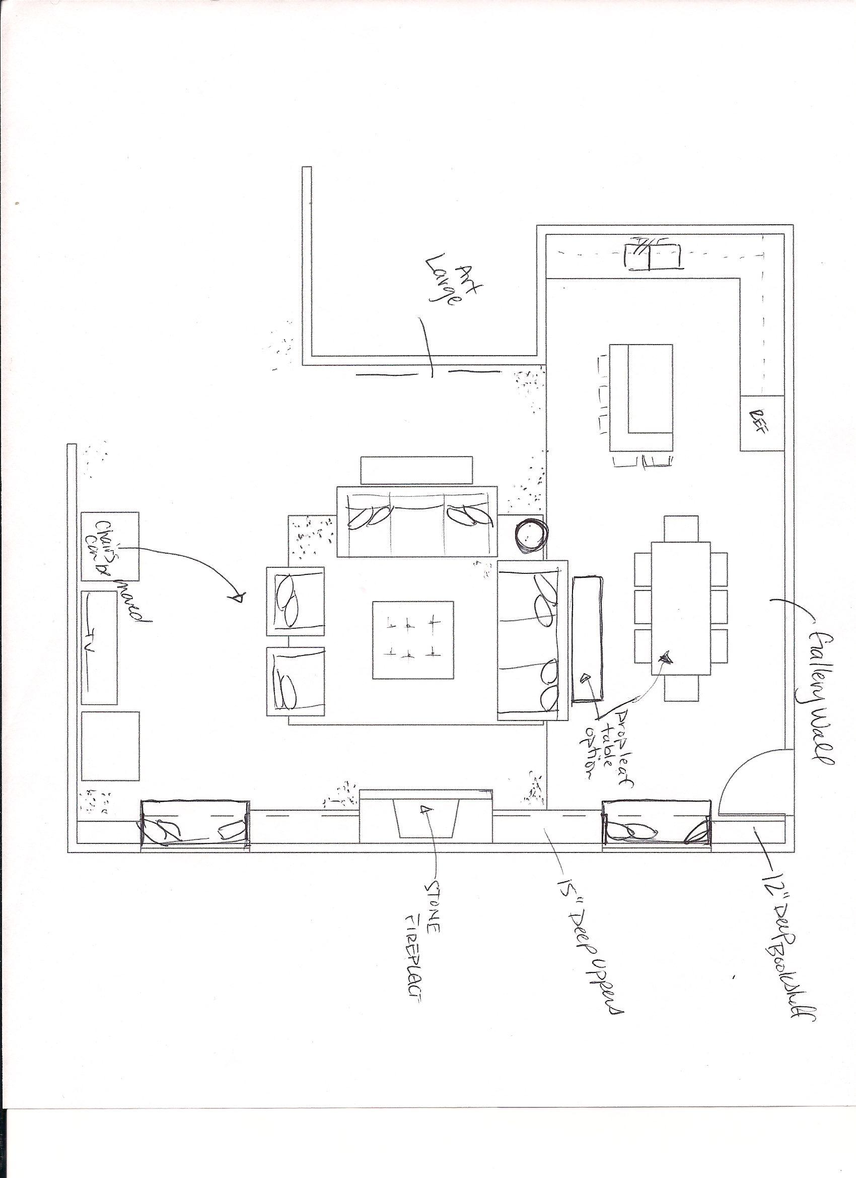 Poulson Great Room Floor Plan 001