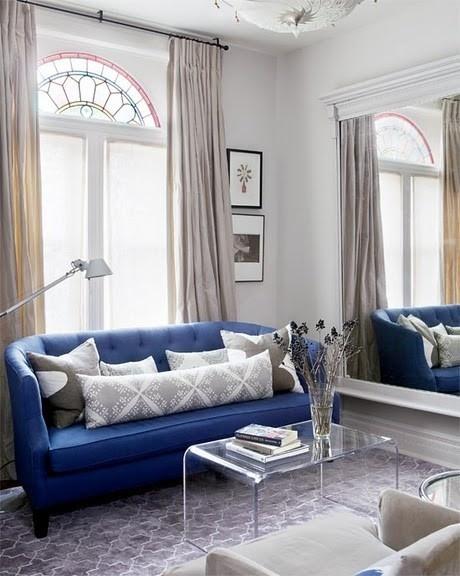 monaco blue sofa