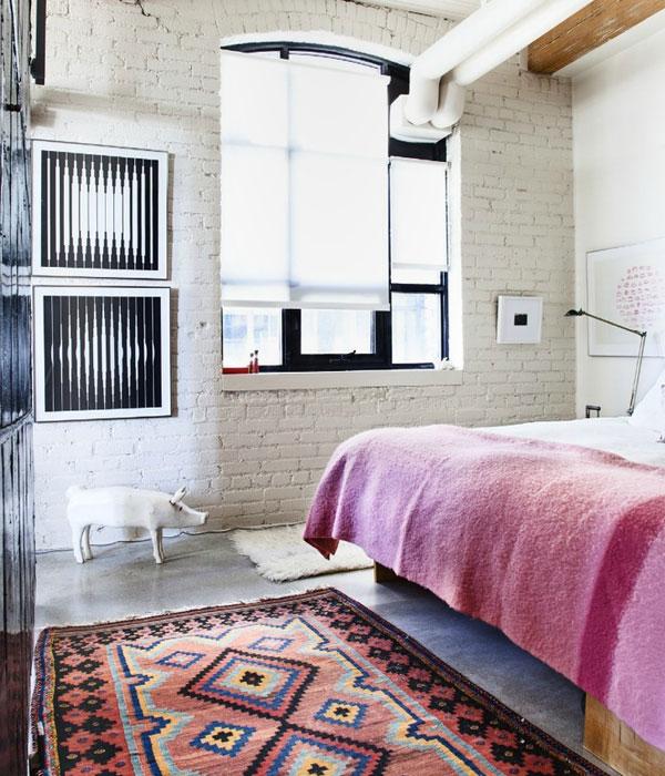 kilim bedroom