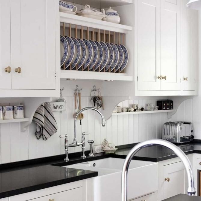 black-and-white-beadboard-kitchen