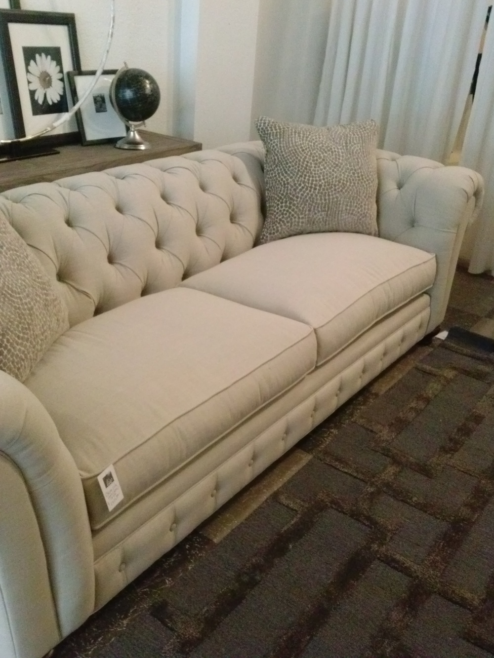 Norwalk Chesterfield sofa