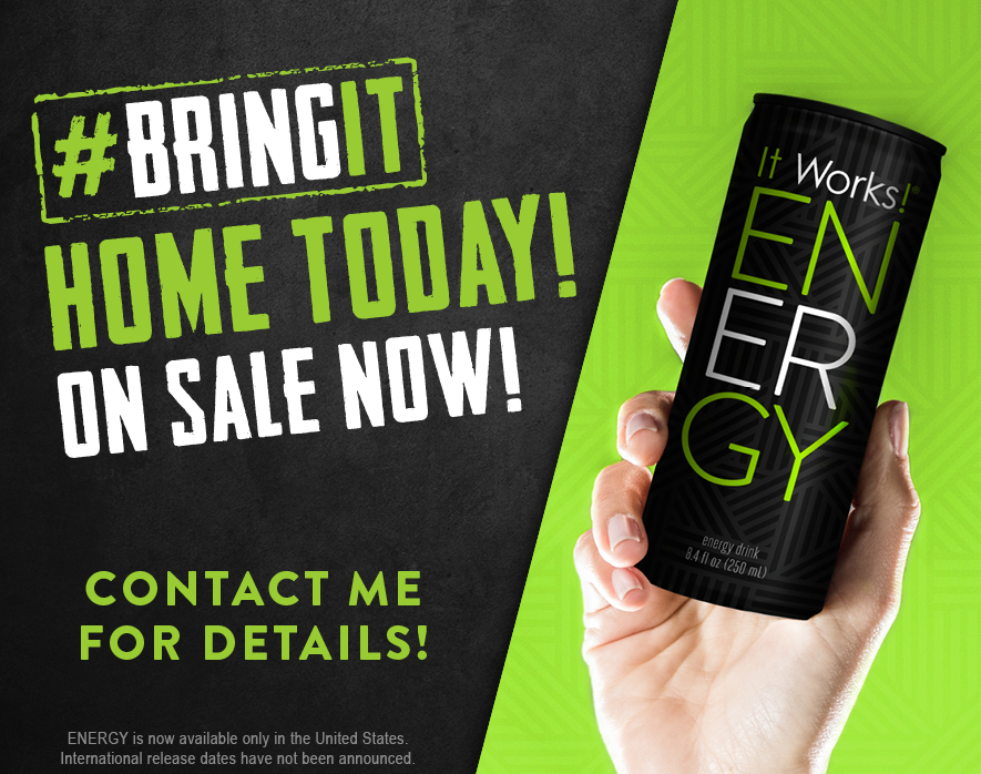 This brand new health-conscious energy drink is available right now!