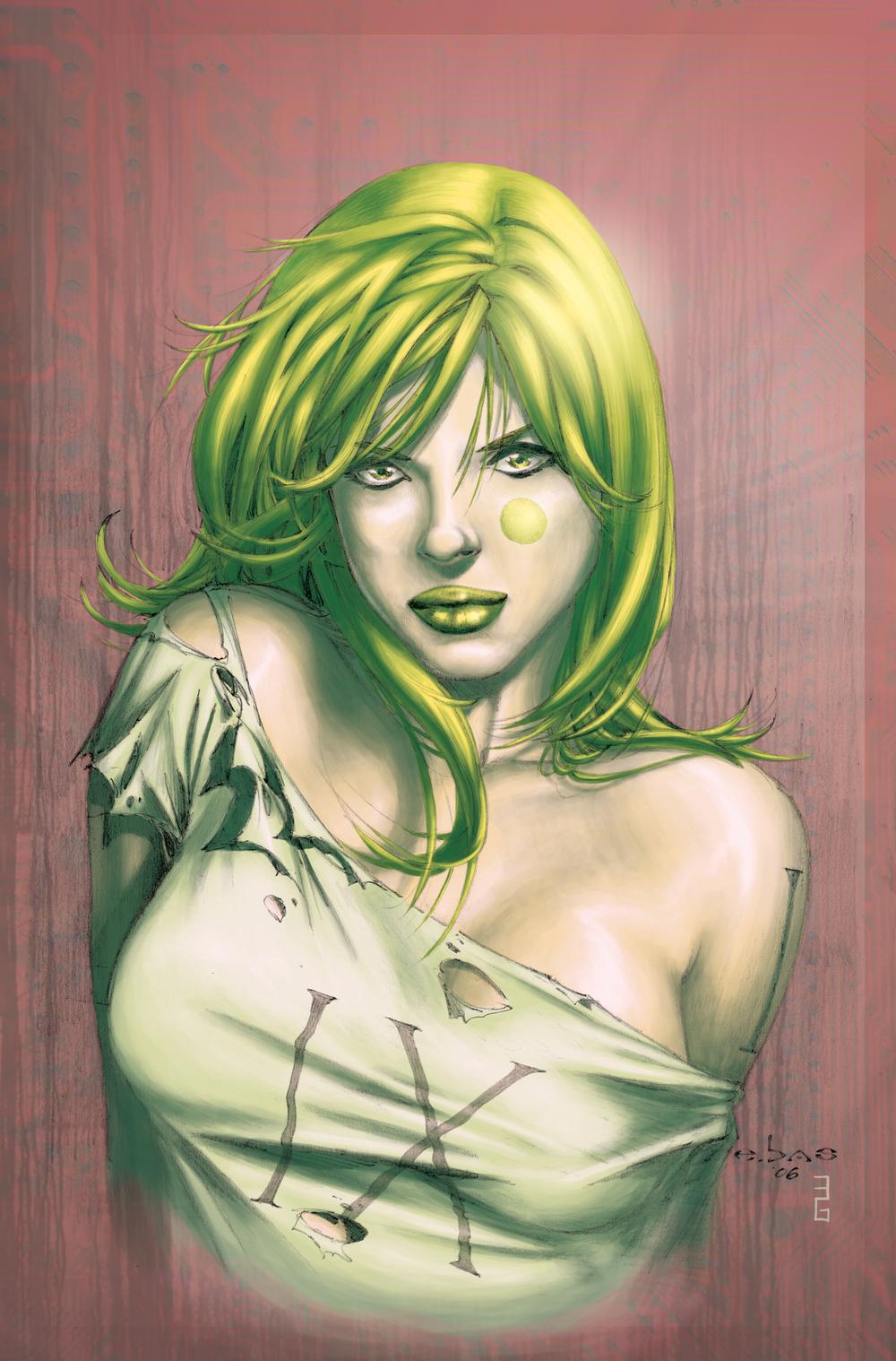 Aphrodite IX #4 Variant Cover