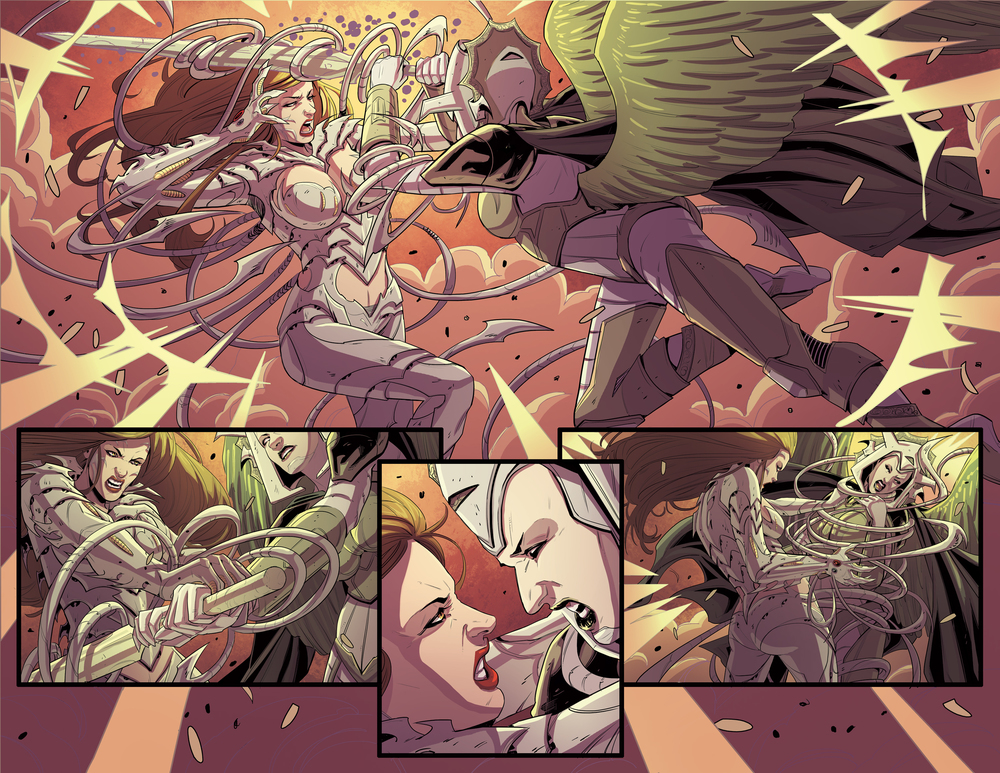 Witchblade #174, Pages 14-15