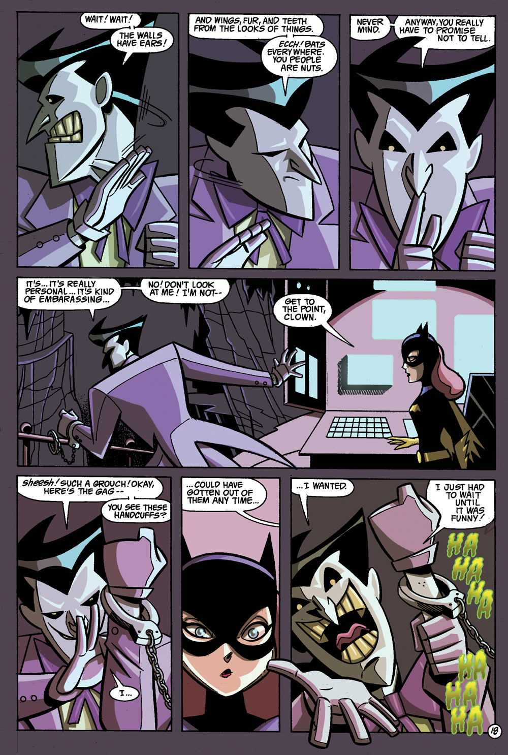 Batman: Gotham Adventures #1 Sample Page 6